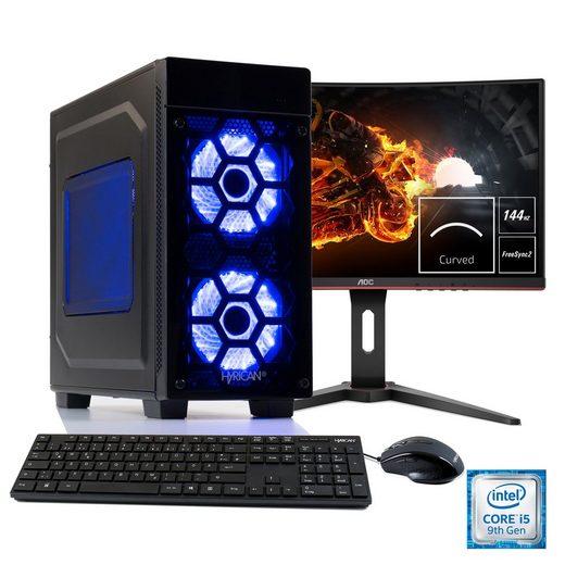 Hyrican Gaming PC i5-9400F, RTX 2060 + 60 cm (24) TFT »Striker SET1904«