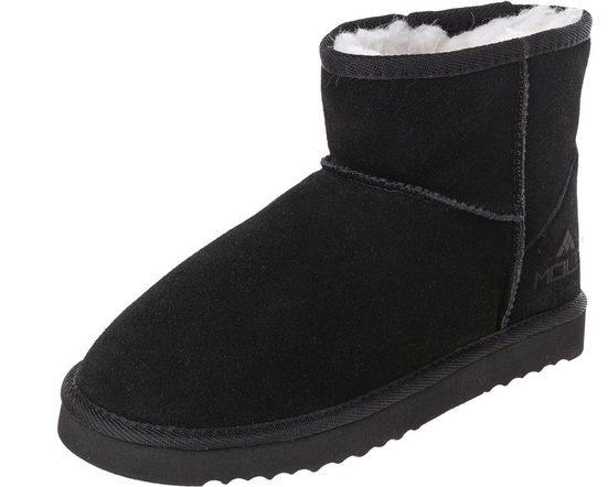 MOLS »Towlan W Leather Boots« Stiefel mit kuscheligem Innenfutter