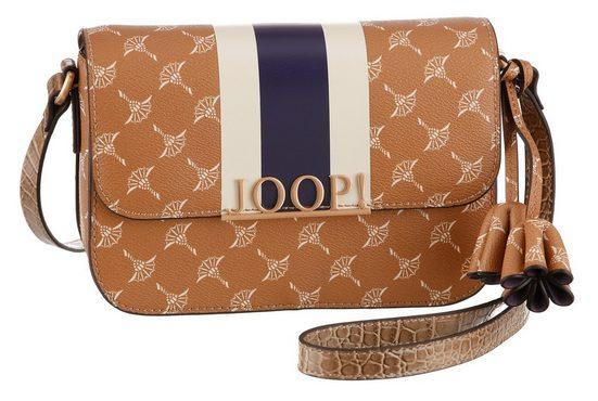 Joop! Mini Bag »cortina due uma«, mit schickem Allover-Druck und großem Logo-Emblem
