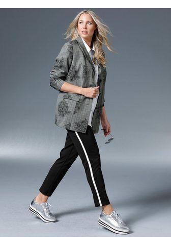 MIAMODA Kelnės su iš šono Streifen
