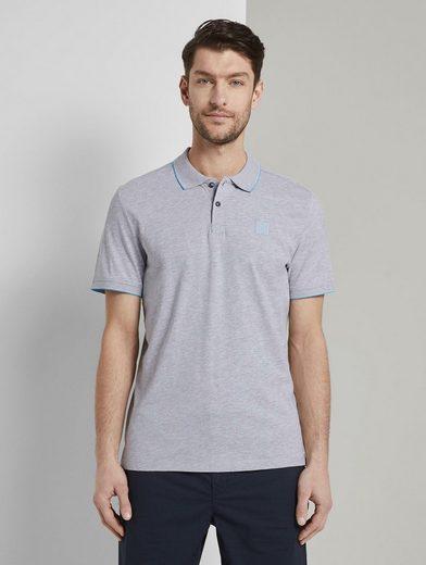 TOM TAILOR Poloshirt »Poloshirt mit Kontraststreifen«