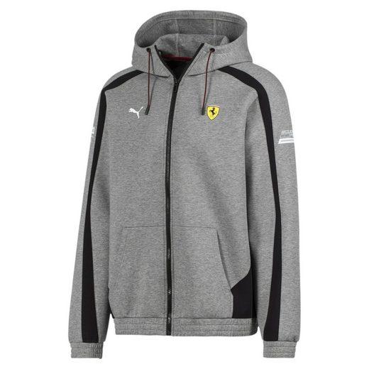 PUMA Sweater »Ferrari Herren Sweatjacke mit Kapuze«