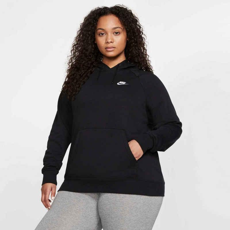 Nike Sportswear Kapuzensweatshirt »W NSW ESSNTL HOODY PO FLC PLUS«