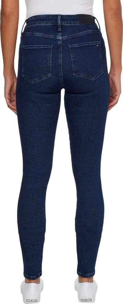 Tommy Hilfiger Skinny-fit-Jeans mit Tommy Hilfiger Logo-Badge
