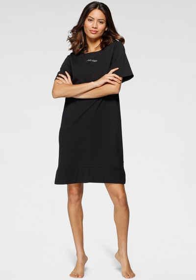 Calvin Klein Nachthemd mit kleinem Frontdruck