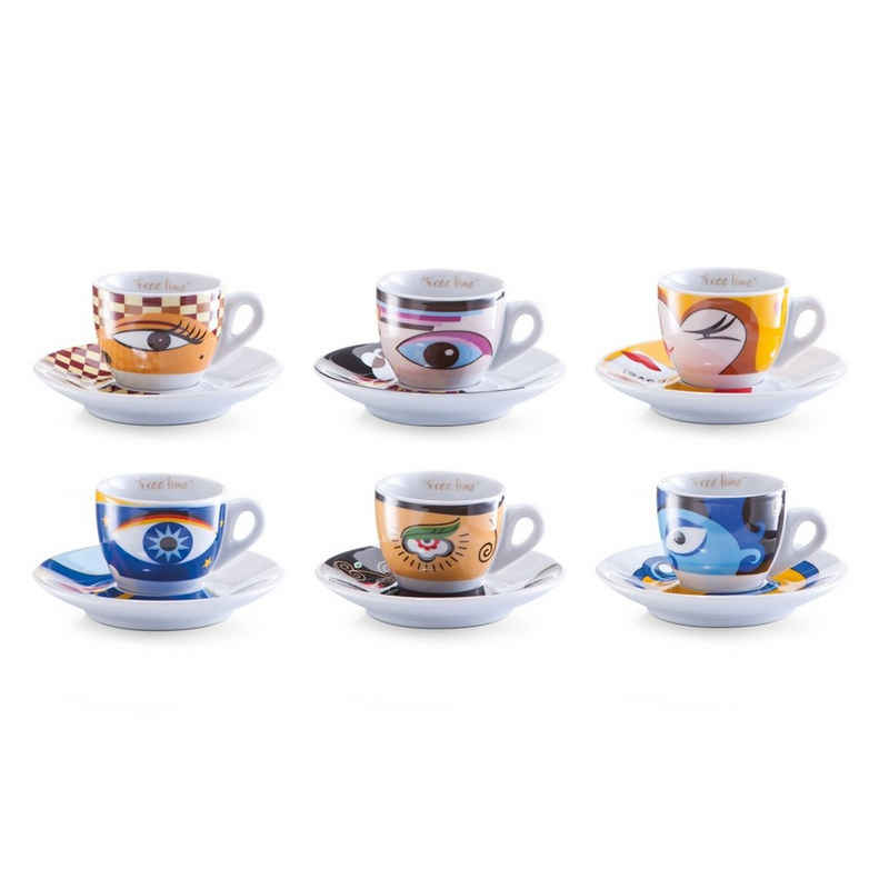 Neuetischkultur Espressotasse »Espresso-Set 12-teilig«, Porzellan
