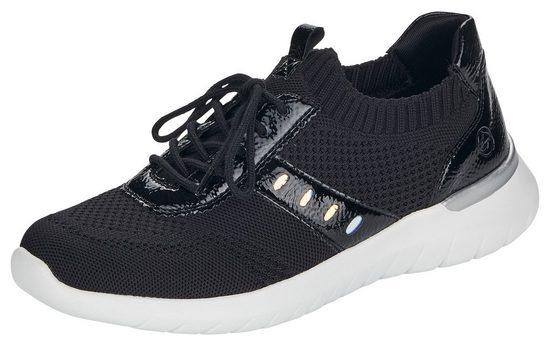 Remonte Slip-On Sneaker mit aufgesetzter Schnürung