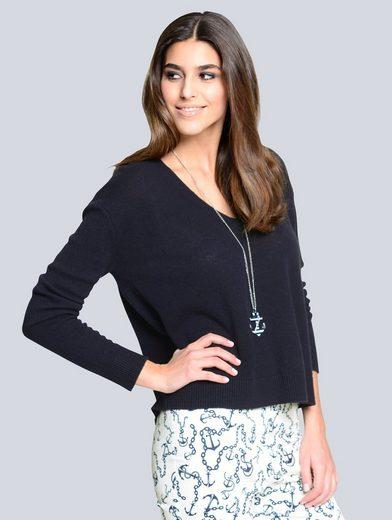 Alba Moda Kaschmirpullover aus kuschelweicher Qualität