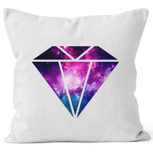 Autiga Dekokissen »Kissenbezug Diamant Ananas Galaxy Manhatten Skyline Pineapple Autiga®«