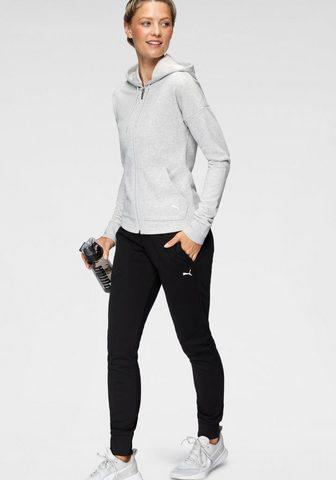 PUMA Jogginganzug »WOMENS CLEAN SWEAT TRACK...
