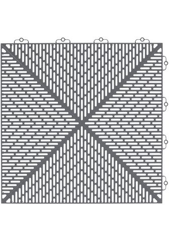 Bergo Flooring Terrassenplatten »Unique Steingrau« 38...
