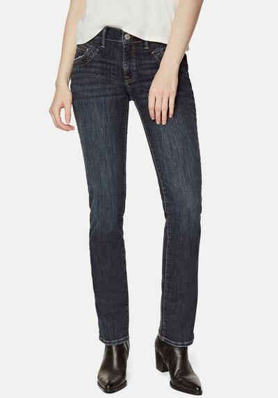 Mavi Straight-Jeans »OLIVIA-MA« hochwertige Denimqualität mit Stretch für den perfekten Sitz