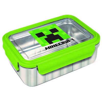 Minecraft Brotschale »Edelstahl Brotdose Minecraft«