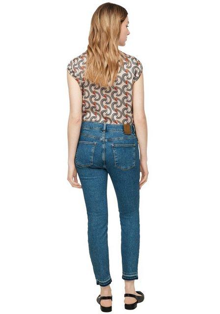 Hosen - comma casual identity Skinny fit Jeans mit Nieten ›  - Onlineshop OTTO