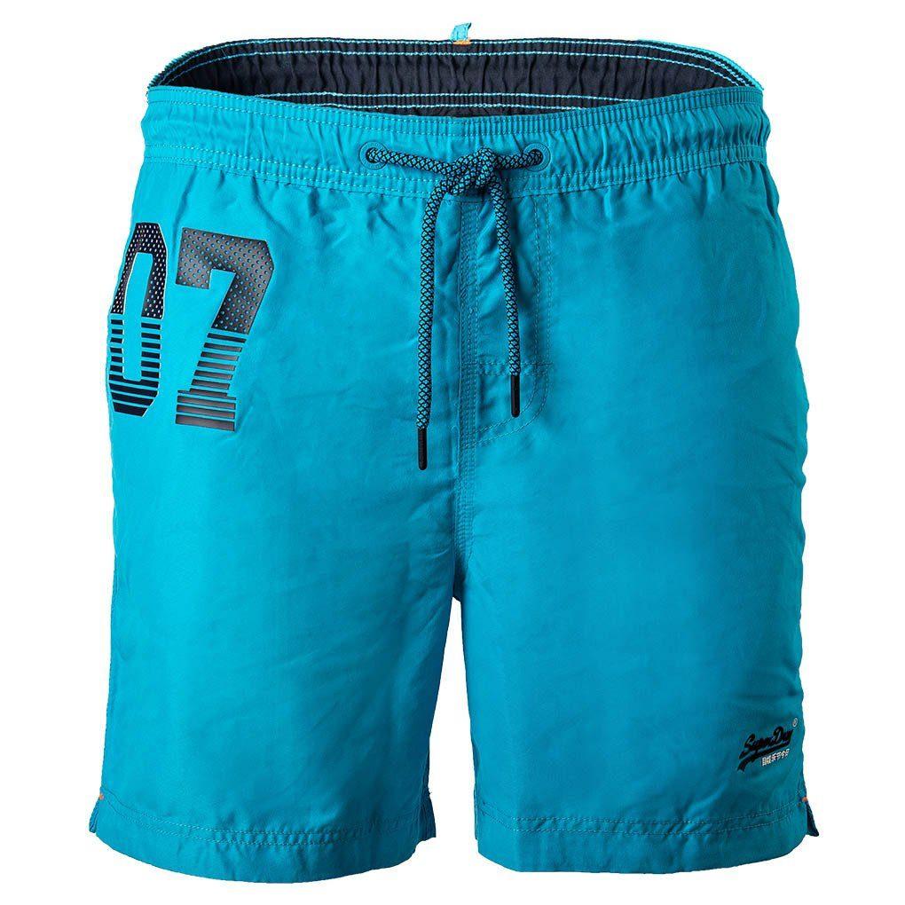 Superdry Badeshorts »Herren Badeshorts Waterpolo Swim Short, Beach« online kaufen | OTTO