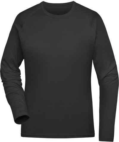 James & Nicholson Trainingsshirt »Sport Shirt langarm FaS50521 aus recyceltem Polyester«