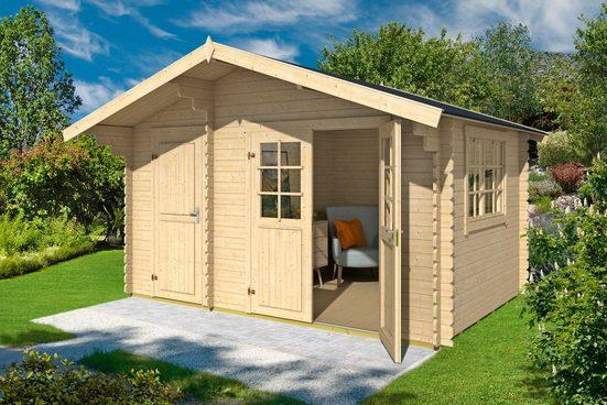OUTDOOR LIFE PRODUCTS Gartenhaus »Belmont 2«, BxT: 445x300 cm, inkl. Fußboden