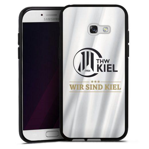 DeinDesign Handyhülle »Wir sind Kiel - 4 Sterne - THW Kiel« Samsung Galaxy A5 (2017), Hülle THW Kiel Handball Offizielles Lizenzprodukt