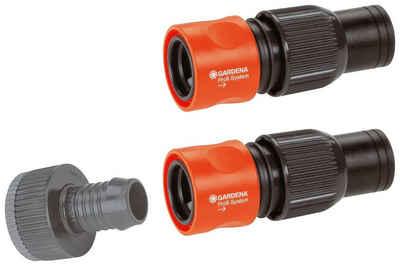GARDENA Anschlussstück »Profi-System, 01505-23«, (Set), für 19 mm (3/4)-Schläuche