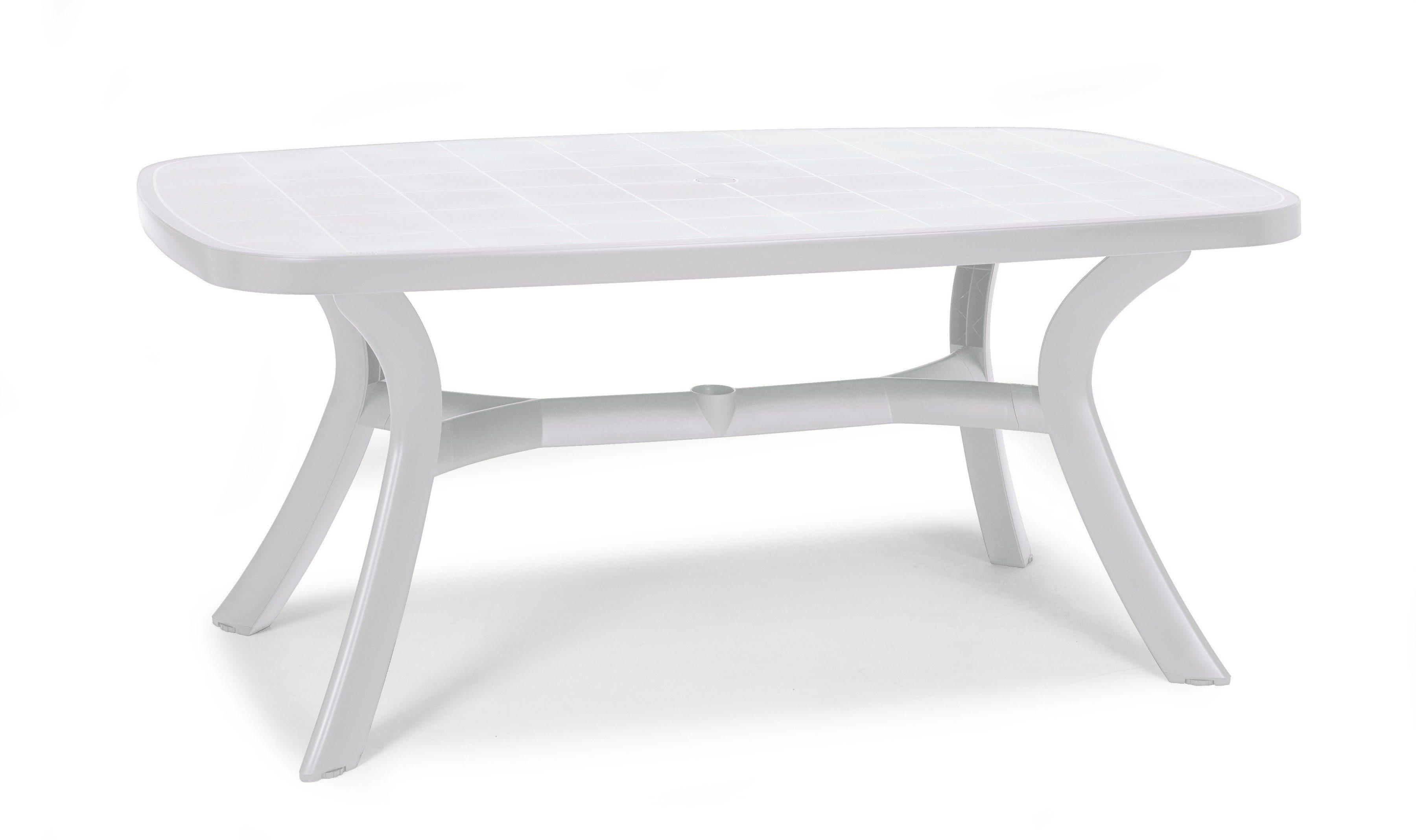 BEST Gartentisch »Kansas«, Kunststoff, 192x105 cm, weiß online kaufen | OTTO
