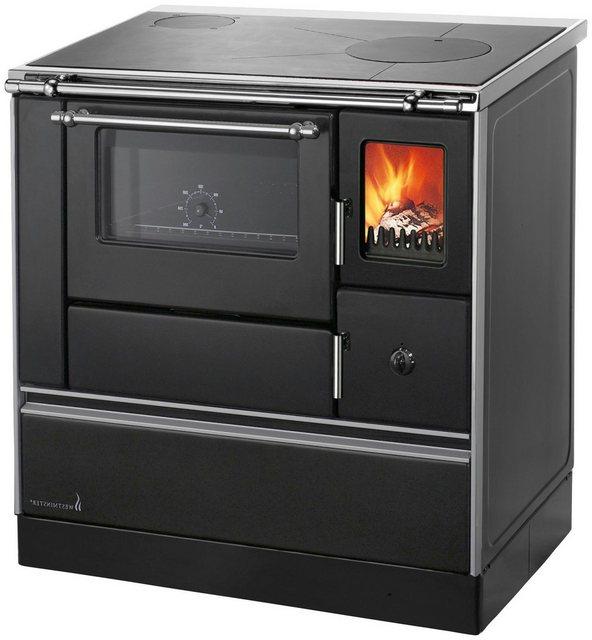 Kamine und Öfen - Wamsler Festbrennstoffherd »Landhausherd K 176A 90 schwarz, links«, 5 kW, Zeitbrand  - Onlineshop OTTO