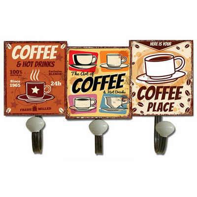 HTI-Line Garderobenhaken »Garderobenhaken Coffee«
