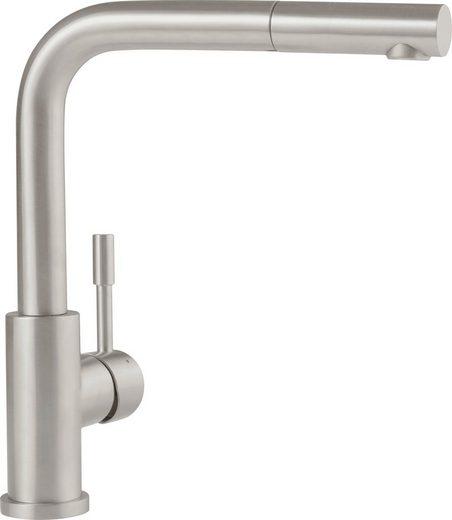 VILLEROY & BOCH Spülenarmatur »Steel Shower«, Niederdruck