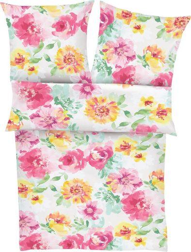 Bettwäsche »Ballina«, Zeitgeist, mit Blumenmuster