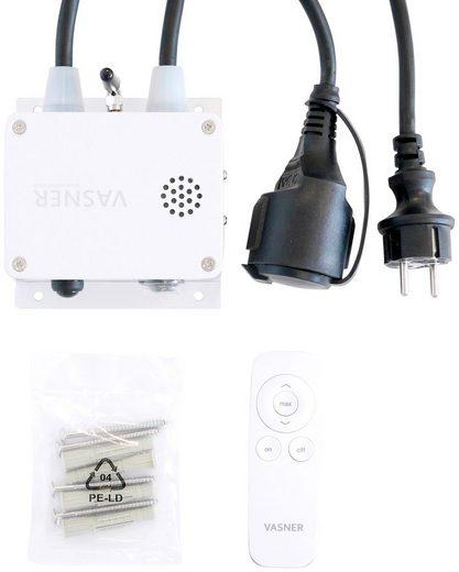 Vasner Bluetooth®-Sender, für Heizstrahler, Fernbedienung + App, stufenlose Dimmung