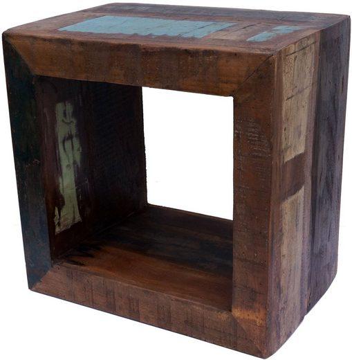 Guru-Shop Couchtisch »Vintage Beistelltisch aus Recyclingholz«