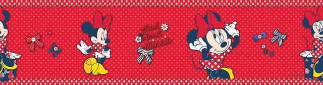 Graham & Brown Bordüre Minnie Mouse