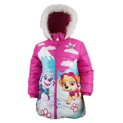 PAW PATROL Winterjacke »Skye Everest Kinder Jacke« Gr. 98 bis 128, Mit Kapuze, in Pink oder Rosa