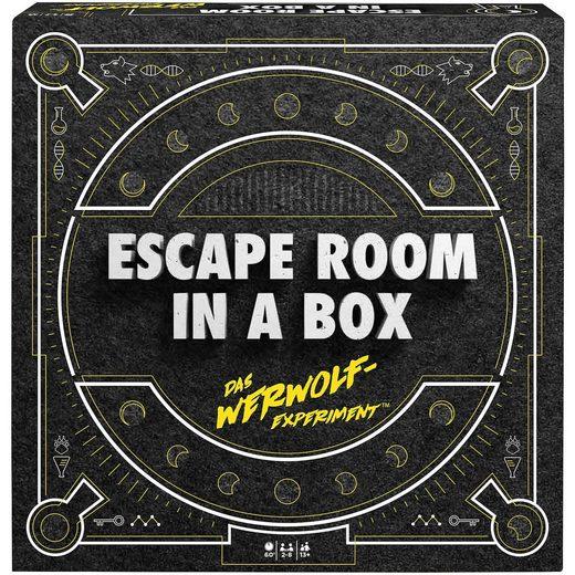 Mattel® Games Escape Room in a box: Das Werwolf-Experiment