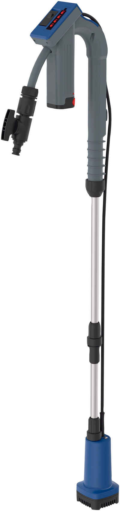 Güde Regenfasspumpe »RFP 12-201-04«, 1500 l/h max. Fördermenge, mit Akku und Ladegerät