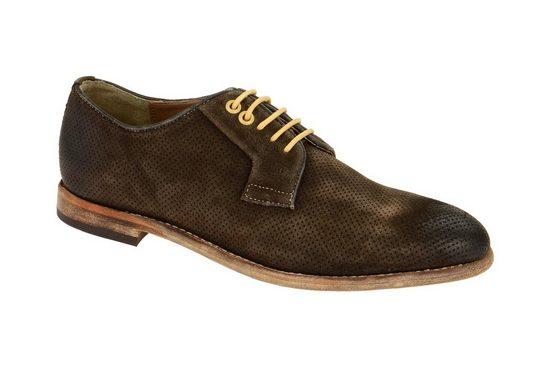 GORDON & BROS »S160739 dark-brown« Schnürschuh