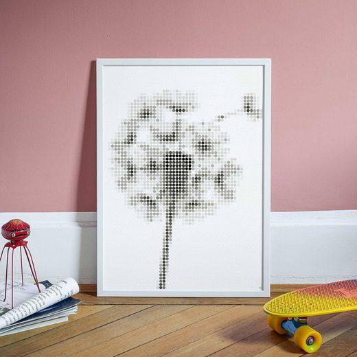 Dot On Malvorlage »dot on art - pusteblume, 50 x 70 cm«