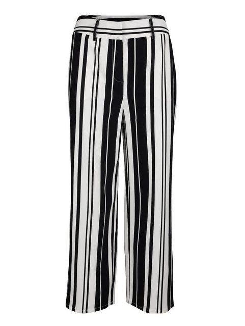 Hosen - Amy Vermont Culotte mit dekorativem Streifen Dessin › schwarz  - Onlineshop OTTO