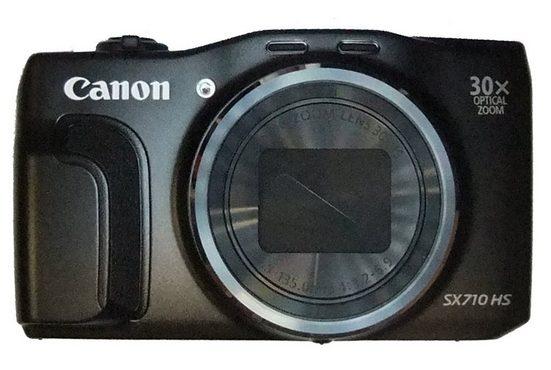 Canon »Canon Powershot SX710 HS schwarz« Kompaktkamera (20,3 MP, 30x opt. Zoom, WLAN (Wi-Fi)