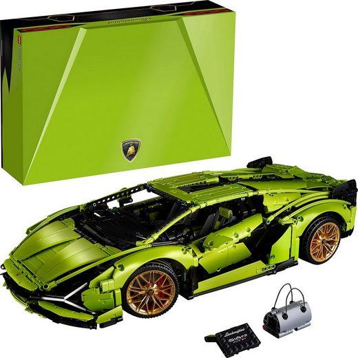 LEGO® Konstruktions-Spielset »LEGO® Technic 42115 Lamborghini Sián FKP 37«