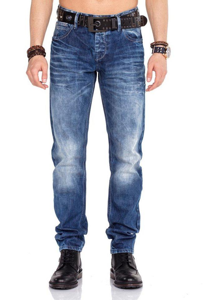 cipo & baxx -  Bequeme Jeans im Straight Fit-Schnitt