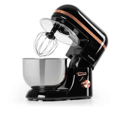 Klarstein Küchenmaschine Bella Elegance Küchenmaschine 2000 W / 2,7 PS / 5,2 Liter Edelstahl BPA-frei, 5 l Schüssel
