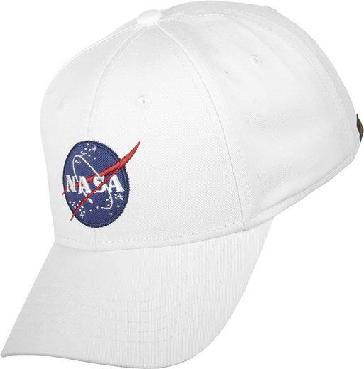 Alpha Industries Snapback Cap »NASA«