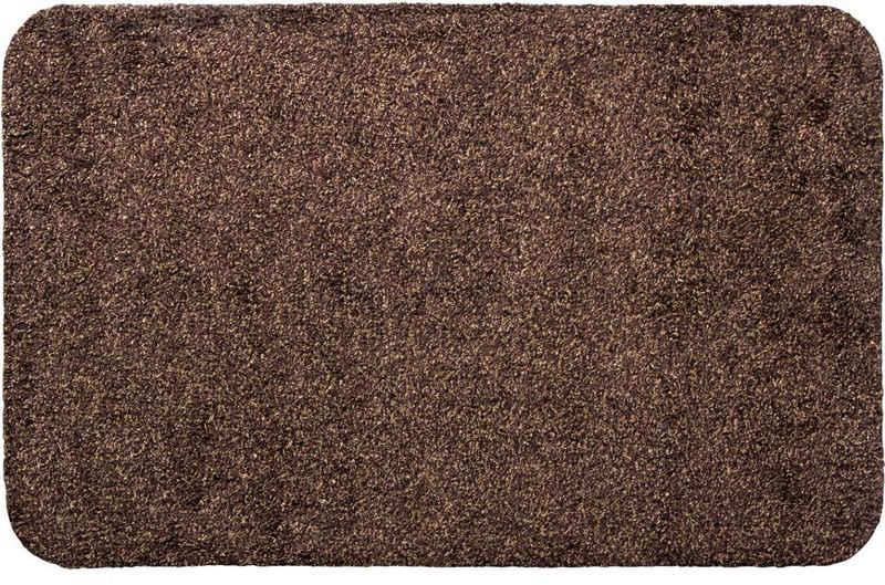Fußmatte »Samson«, Andiamo, rechteckig, Höhe 6 mm, Schmutzfangmatte, Innen- und überdachten Außenbereich geeignet, waschbar mit rutschhemmender Unterseite