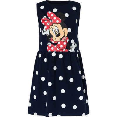 Disney Minnie Mouse Jerseykleid »Disney Minnie Mouse Kinder Jerseykleid«