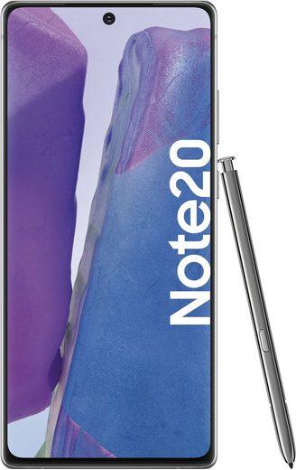 Samsung Galaxy Note20 Smartphone (16,95 cm/6,7 Zoll, 256 GB Speicherplatz, 64 MP Kamera, 3 Jahre Garantie)