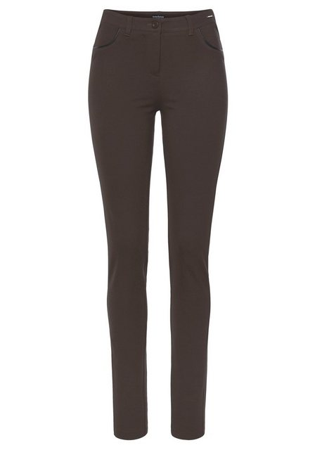 Hosen - Bruno Banani Treggings Slim Fit Hose Power Stretch › braun  - Onlineshop OTTO