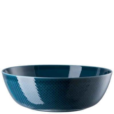 Rosenthal Schale »Junto Ocean Blue Schüssel 33 cm«, Porzellan, (1-tlg)