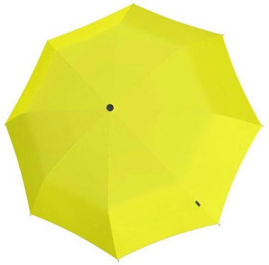 Knirps® Partnerschirm »U.900 Ultra Light XXL Manual, Uni Yellow«, Ultraleicht
