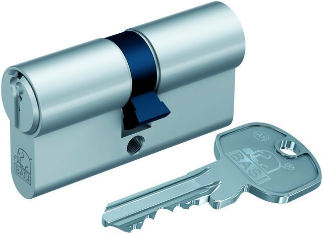 BASI Zylinderschloss »35/40 mm mit Not- & Gefahrenfunktion«, AS Profil-Doppelzylinder