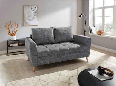andas 2-Sitzer »Blackburn Luxus«, mit besonders hochwertiger Polsterung für bis zu 140 kg Belastbarkeit